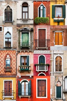 In love with the windows in Venezia