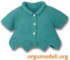 Bebek Yelek Örgü Modelleri - 23