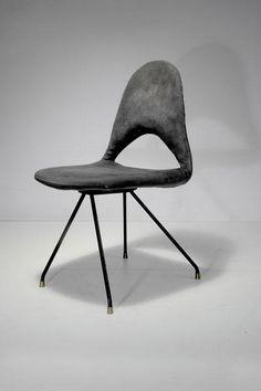 Gastone Rinaldi; 'DU 68' Chair for Rima, 1954.