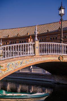 Plaza de España, Seville, Spain @sevillaciudad @tourisminspain | Bold Bliss