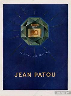 Jean Patou (Perfumes) 1946 Joy
