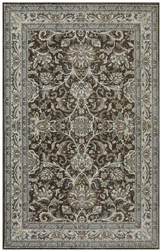 Karastan Euphoria Newbridge Brown Area Rug - Incredible Rugs and Decor