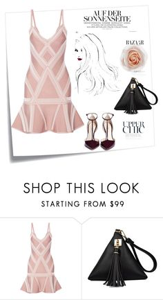♥ by macopa on Polyvore featuring mode, Hervé Léger, 3.1 Phillip Lim and Post-It