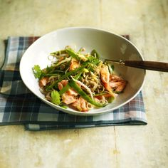 Salmon stir-fry with soba noodles - Woman And Home