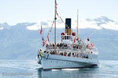 Paddle Boat, Steamers, Yachts, Switzerland, Opera House, Boats, Fun, Travel, Steam Boats