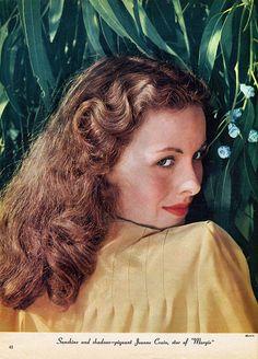 Jeanne Crain | les femme | vintage beauty