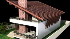 Proiect Casa Economica BC-107-120m2 Design Case, Ikea, Outdoor Decor, House, Home Decor, Future, Vintage, Country Houses, Decoration Home