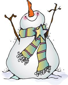 Free Snowman Clipart - The Cliparts
