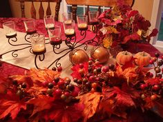Dining Delight: Fall Dinner Party for Eight