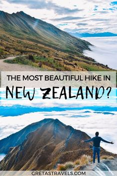 Planning to hike Roys Peak in Wanaka New Zealand? Discover everything you need to know about conquering this challenging peak with this ultimate Roys Peak hike guide. New Zealand Itinerary, New Zealand Travel Guide, Amazing Destinations, Travel Destinations, Big Ben, Travel Guides, Travel Tips, Visit New Zealand, New Zealand South Island