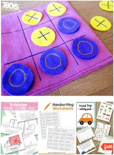 Road Trip Printable Activities for Kids