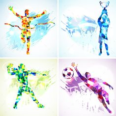 Sports Players American Football Players, Soccer Players, Modern Graphic Design, Graphic Art, Sports Day Poster, Volleyball Posters, Football Wall, Football Bedroom, Sports Art
