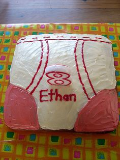 A Captain Underpants cake ~ both funny and disturbing