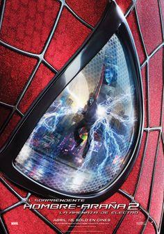 El Sorprendente Hombre Araña 2: La Amenaza de Electro | Poster