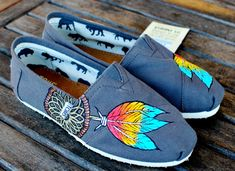 Native American Dream Catcher TOMS by BStreetShoes on Etsy, $129.00