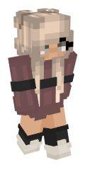 Minecraft Skins Red, Minecraft Skins Female, Minecraft Skins Aesthetic, Cool Minecraft, Minecraft Houses, Skin Mine, Mc Skins, Aphmau, Red Flowers