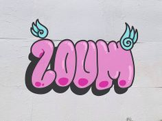 Zoum. Digital grafitti