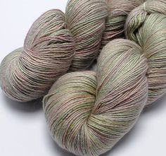 Hand Dyed Fine Merino / Mulberry Silk Yarn