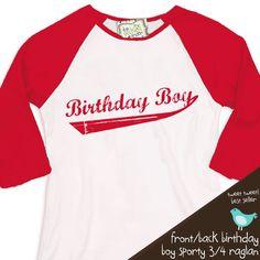 Possible birthday shirt