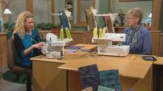 Ultimate Serger Techniques, Part 1 | Take the lead from Nancy and serger pro Pam Mahshie to get your serging skills up to speed! Learn the basics, and get the confidence to gather, add puffing or textures, and serge on ribbon trim with ease. You'll be surprised as you learn new-age serging techniques for your projects.