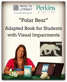 In this short video, Marguerite Bilms, a teacher in the Deafblind Program at Perkins School for the Blind describes how she has adapted this book by Eric Carle to meet the visual needs of her students who have low vision and cortical visual impairment.