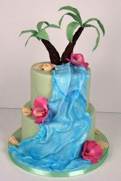 waterfall wedding cake toronto by www.fortheloveofcake.ca, via Flickr