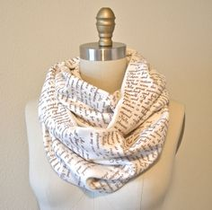 Wuthering Heights Book Scarf