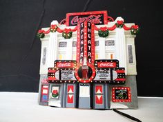Coca Cola Town Square Collection Drive-In Theater Coke Christmas