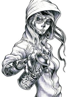 Image result for sugar skull girl