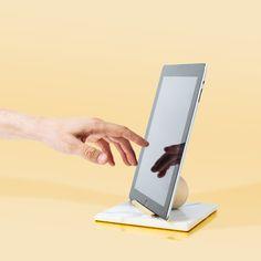 Ladies & Gentlemen Studio Marble iPad Stand for Poketo