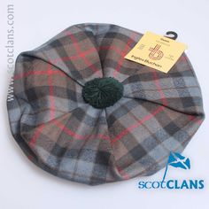 Gunn Weathered Tartan Tam from ScotClans