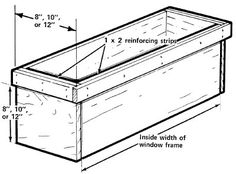 to Build Window Treatments How to build a window box. Honey-do I MUST learn to do this stuff myself!How to build a window box. Honey-do I MUST learn to do this stuff myself!