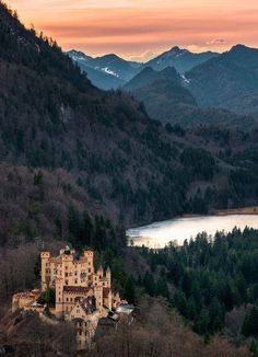 Hohenschwangau Castle Germany