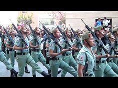 CABALLEROSLEGIONARIOS,desfilan en la Semana Santa 2012. Cristo de la Buena Muerte - Málaga