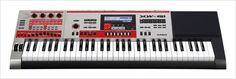O sintetizador #Casio XW-G1 possui uma função de Corrente, para que os criadores de trilhas combinem até 99 padrões variados de desempenho musical e os reproduza em loop.