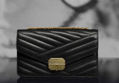 Chanel quilted calfskin flap bag with mini Mademoiselle closure (Cruise Cruise Collection, Chanel Cruise, Quilted Bag, Chanel Handbags, Women's Handbags, Chanel Black, Chanel Boy Bag, Shoulder Bag, Purses