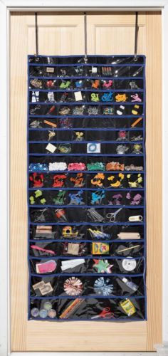 """Large Over The Door Organizer w/100 Storage Compartments 28""""W x 61""""H ~NEW~"""