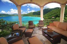 Cinnamon Breeze rental villa, St. John