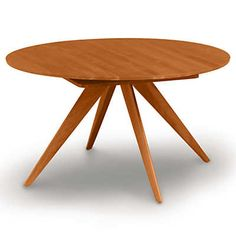 """Show details for Catalina 54/78"""" w Extension Round Table by Copeland Furniture"""