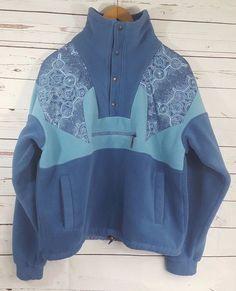 Eider Polartec Fleece Mens Size Large Geometric Pullover Retro 80 90s  Unisex  Eider  PulloverFleeceJacket  unisexfashion  80sfashion  90sfashion  ... a074c837e8a06