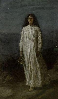 """The Somnambulist"" -  John Everett Millais"