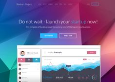 Startuply is a one page multi-purpose startup template that can be used for all kind of startups like: software, (SaaS) service, plugins, platforms or...