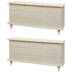 Dramatic Nine-Drawer Chest by American of Martinsville, Pair Available