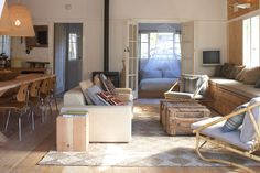 Beautiful scandinavian inspired beach house in Sydney called Koskela. Image via Koskela