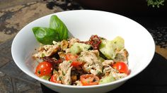 Paleo Pesto Chicken Salad- Perfect for a lunch dish, especially if preparing for a busy week ahead.