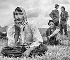 Photographer Tim Page in Vietnam.  Tim Page is a famous war photographer who started with a borrowed Nikon.