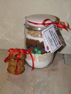 Bianca's kageverden: Bag-selv-kage i glas - julegave til dagplejen Værtindegave