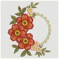 Floral Dreams 05(Md) machine embroidery designs