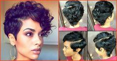 Nice Short Haircuts For Dark Skinned Women #adepamaket
