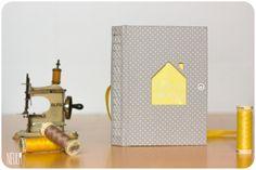 Neula libretas handmade · Nido de abeja